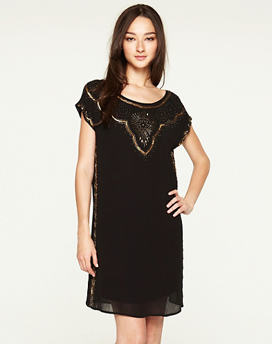 Good Fortune Embellished Dress