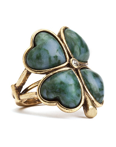 Green Clover Ring*