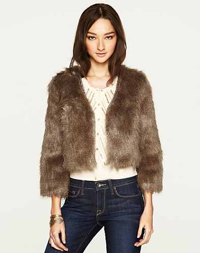 Gypset Faux Fur Jacket*
