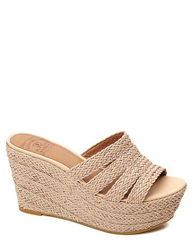 Havana Slip-on Wedges*
