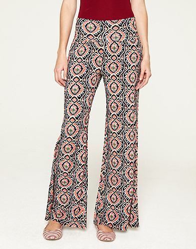 Ikat Damask Palazzo Pant