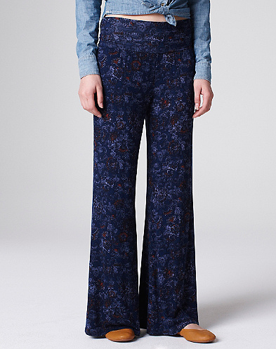 Indian Flowers Palazzo Pants