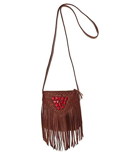 Indio Fringe Small Crossbody Bag*