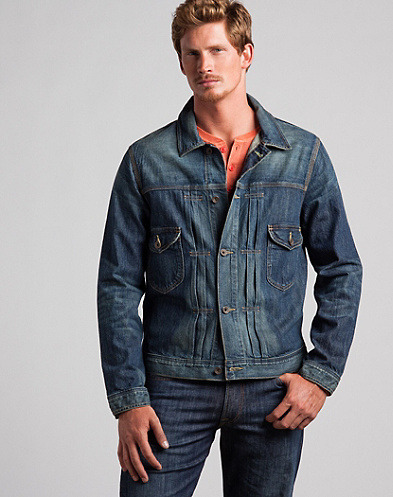Industrial Denim Jacket