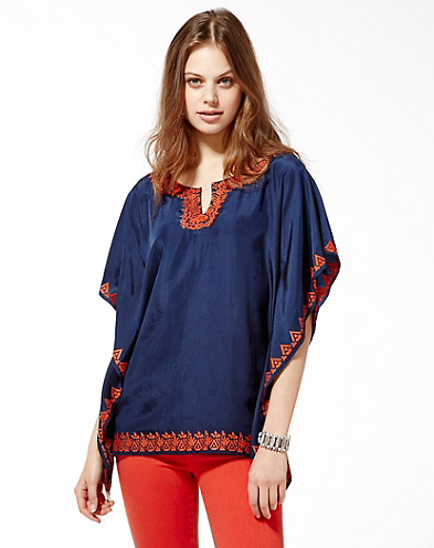 Irving &amp; Fine Scarf Top