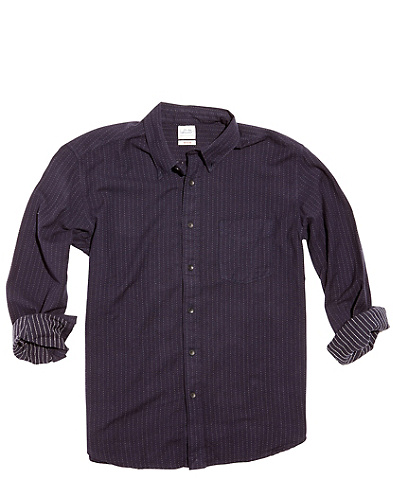 Jacquard Dot One-Pocket Shirt