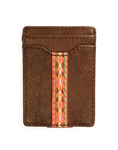 Jacquard Tape Slim Card Case