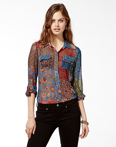 Jane Stevie Patchwork Shirt