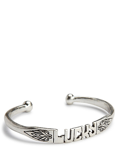 Jen Rossi Lucky Word Cuff