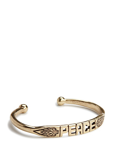 Jen Rossi Peace Cuff