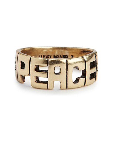 Jen Rossi Peace Ring