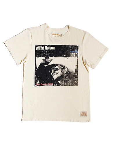 Jim Marshall Willie Nelson T-Shirt*