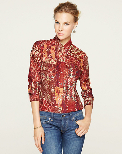 Joan Patchwork Blouse*