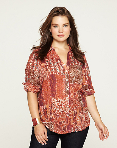 Joan Patchwork Blouse