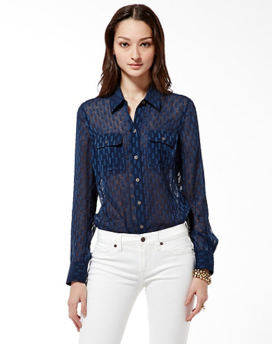 Joan Textured Shirt