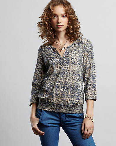John Robshaw Anne Printed Top*