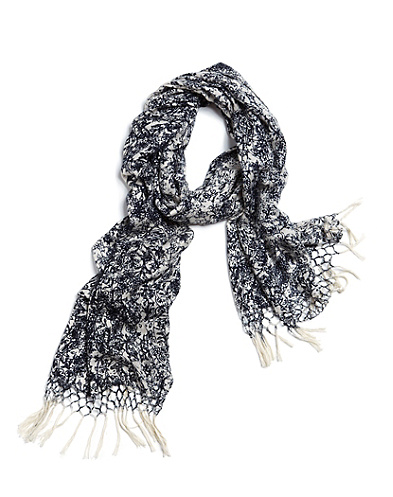 John Robshaw Vines Print Scarf*
