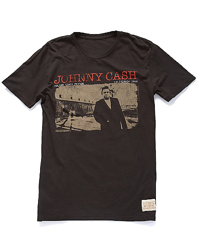 Johnny Cash Folsom T-Shirt