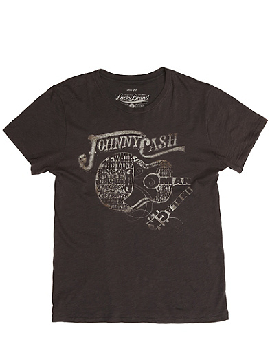 Johnny Cash Guitar T-Shirt
