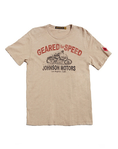Johnson Motors Geared for Speed T-Shirt*
