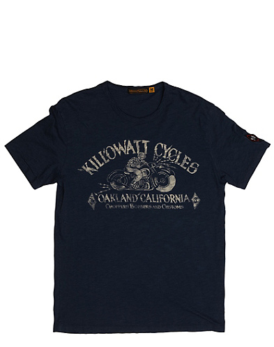 Johnson Motors Kilowatt Cycles T-Shirt