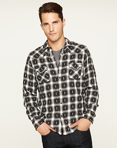 Kevler Plaid Classic Western Shirt*