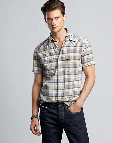 Kona Plaid Western Shirt*