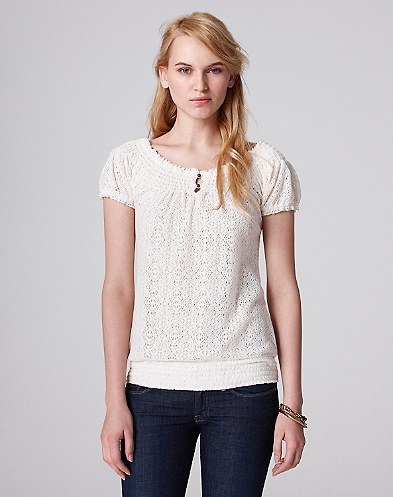 Lace Mena Top*