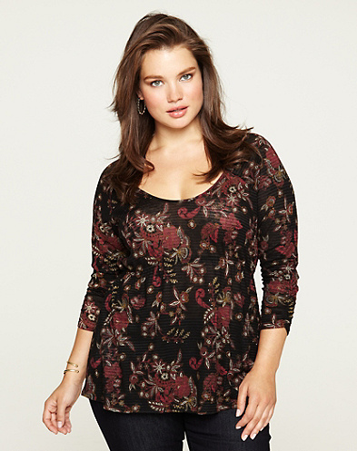 Lace Shadows Hera Top
