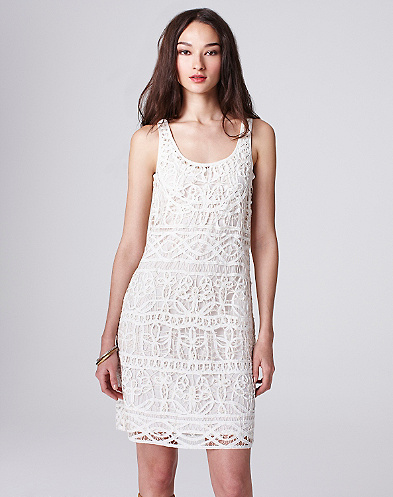 Lace Shift Dress*