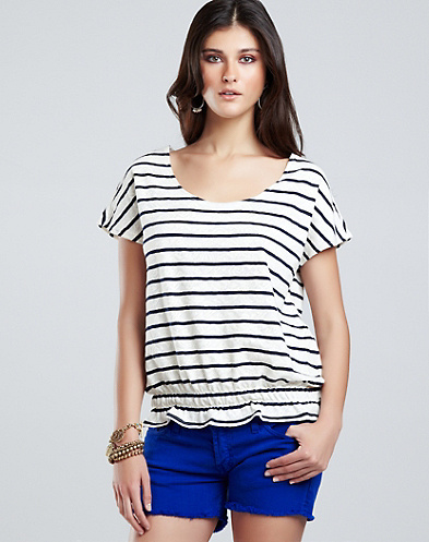 Lacey Striped Top*