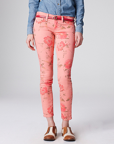 Legend Floral Printed Capri*