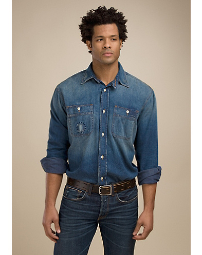 Legend Marina Denim Work Shirt*