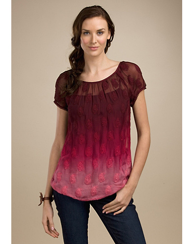Legend Ombre Lace Tee*