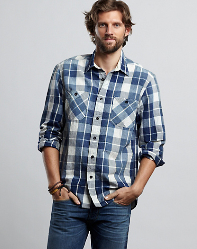 Legend Plaid Workwear Shirt*