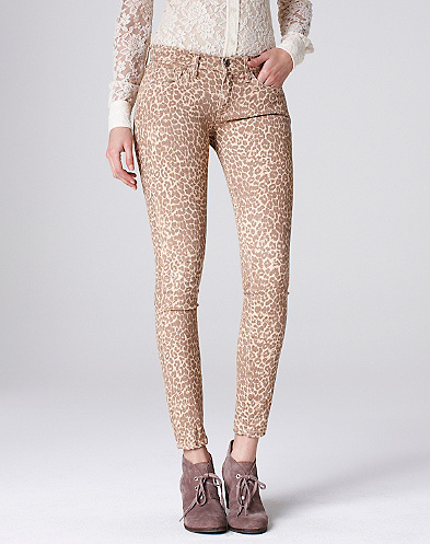 Legend Sofia Skinny Cheetah Print Jeans*