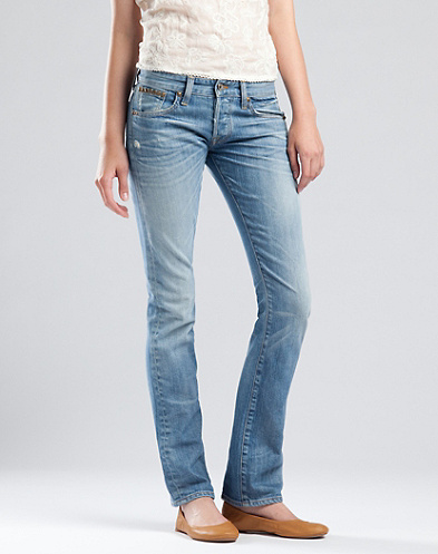 Legend Studded Straight Jeans*