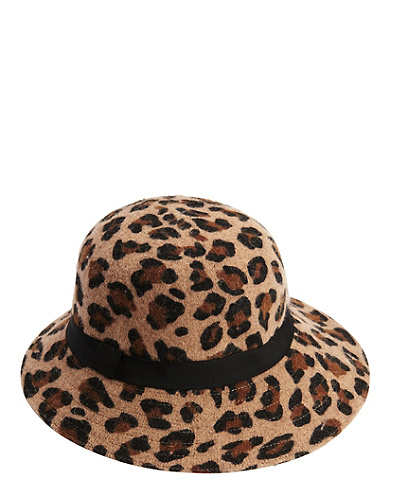 Leopard Print Liberec Hat