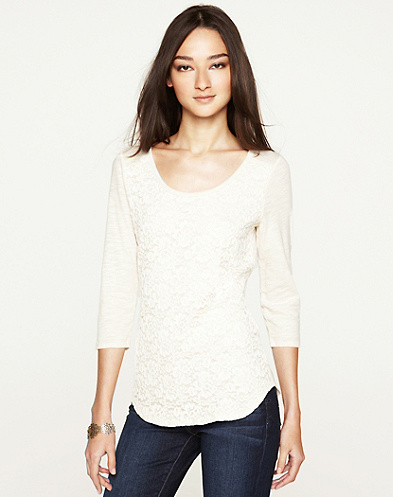 Lilian Lace T-Shirt