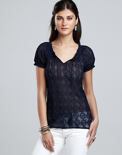 Lily Lace Top*