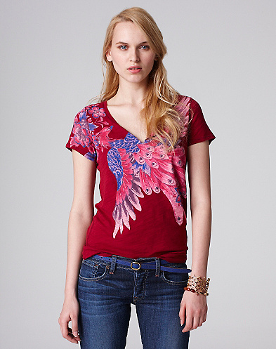 Liv Feather T-Shirt*