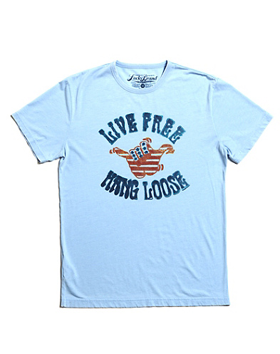 Live Free Hang Loose Burnout T-Shirt*