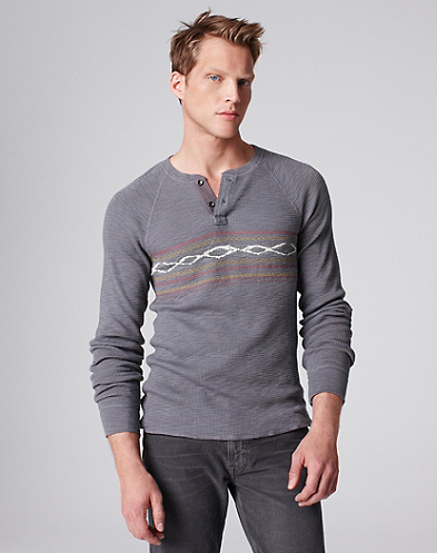Lived-In Thermal Henley