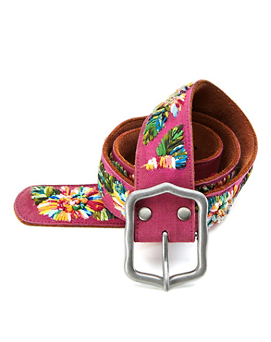 Lola Chiffon Embroidered Belt*