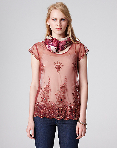 Love Story Lace T-Shirt