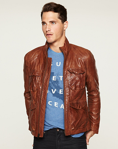 Lucky Legend The Zipper Leather Jacket