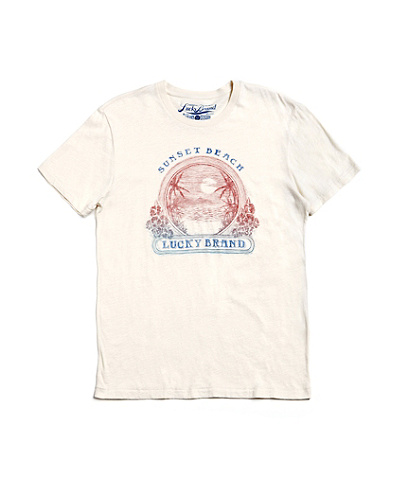 Lucky Sunset Beach T-Shirt*