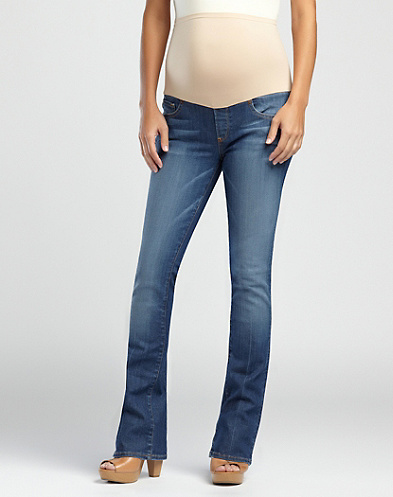 Maternity Baby Boot Jeans