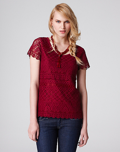 Maya Lace T-Shirt