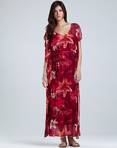 Maya Tropical Caftan*